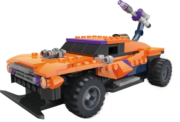 Stem Genius 3-IN-1 BATTLE TRUCK & HOT ROD