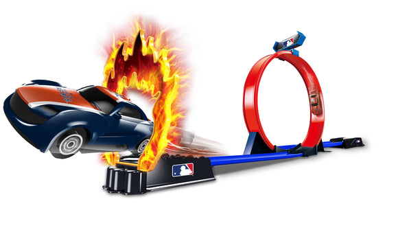 OFFICIAL MLB STUNT RACER - 2 CARS & TRACK