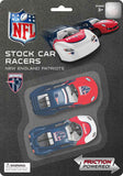 OFFICIAL NFL STOCK CAR RACERS - 2PACK 12/48PC TO A CASE PACK