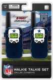 OFFICIAL NFL WALKIE TALKIE 2 PACK