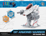 DGL TOYS STEM GENIUS MOTORIZED DIY WALKING ROBOT KIT
