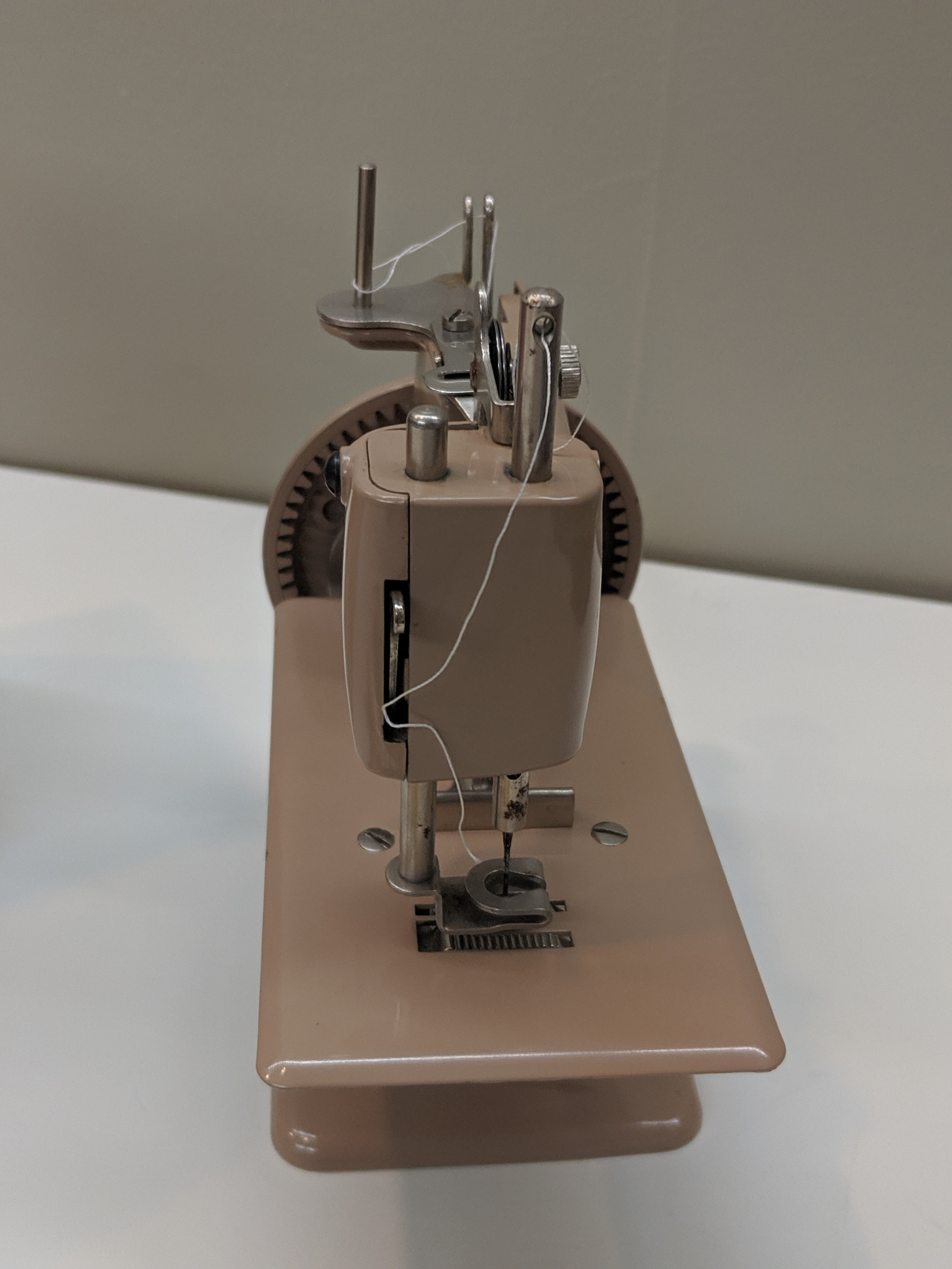 Beige Sing Sewhandy Model 20 Sewing Machine