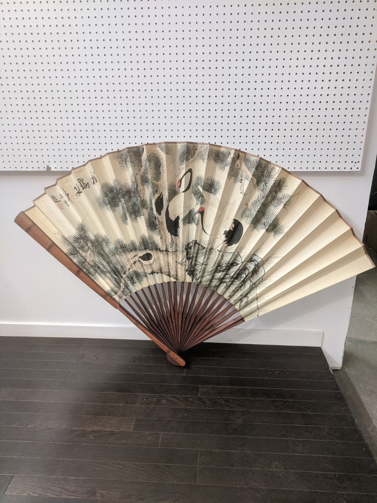 Large Fan Wall Decor