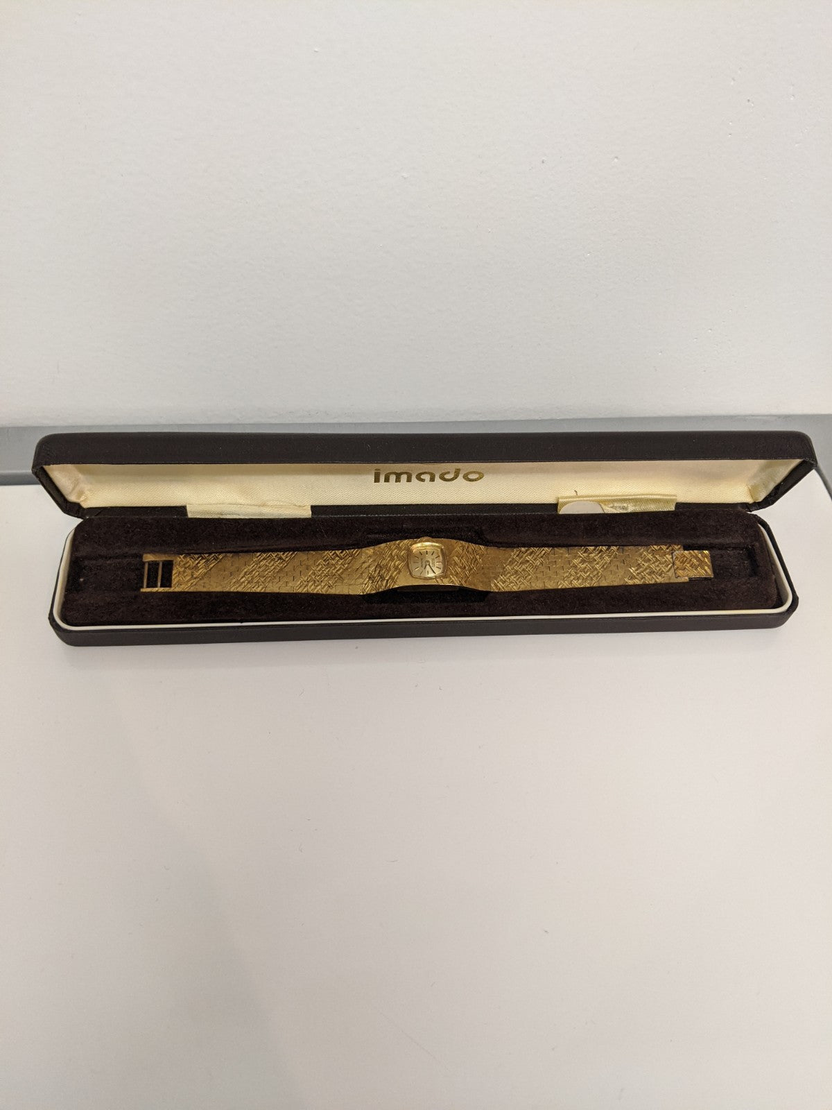 Gold Imado Bracelet Wristwatch
