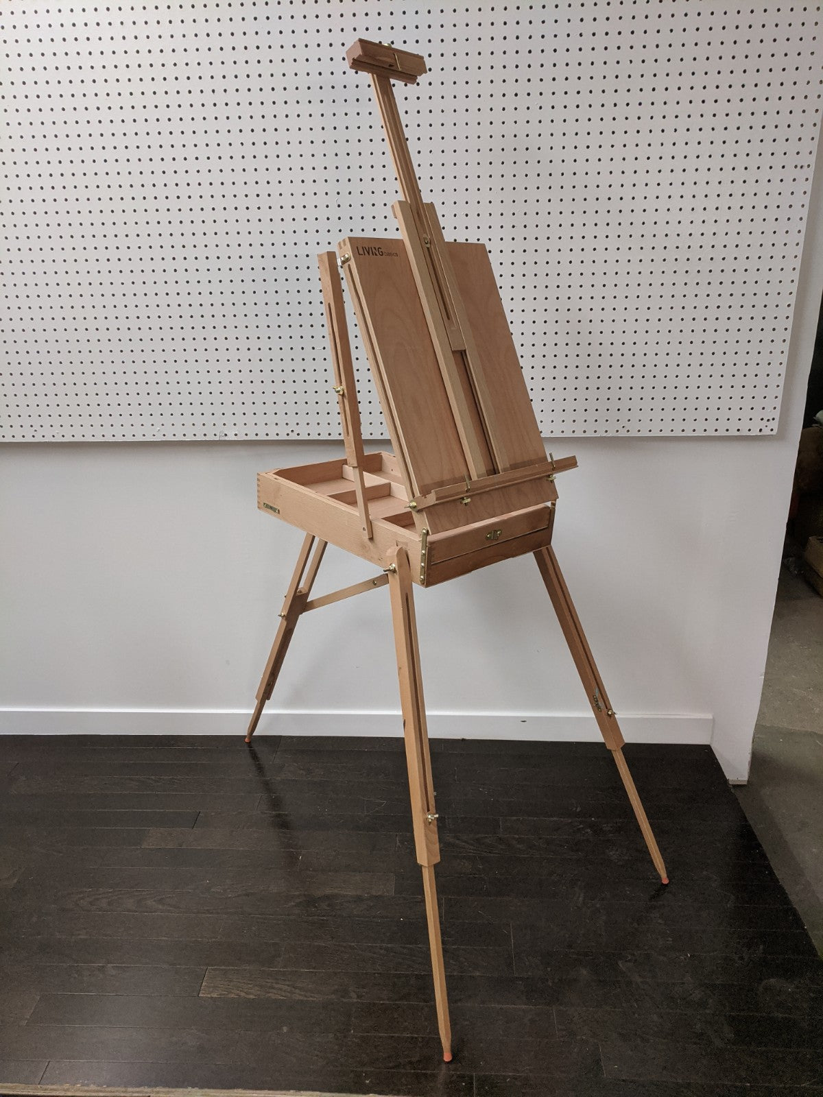 LIVINGbasics Portable Wooden Easel Stand