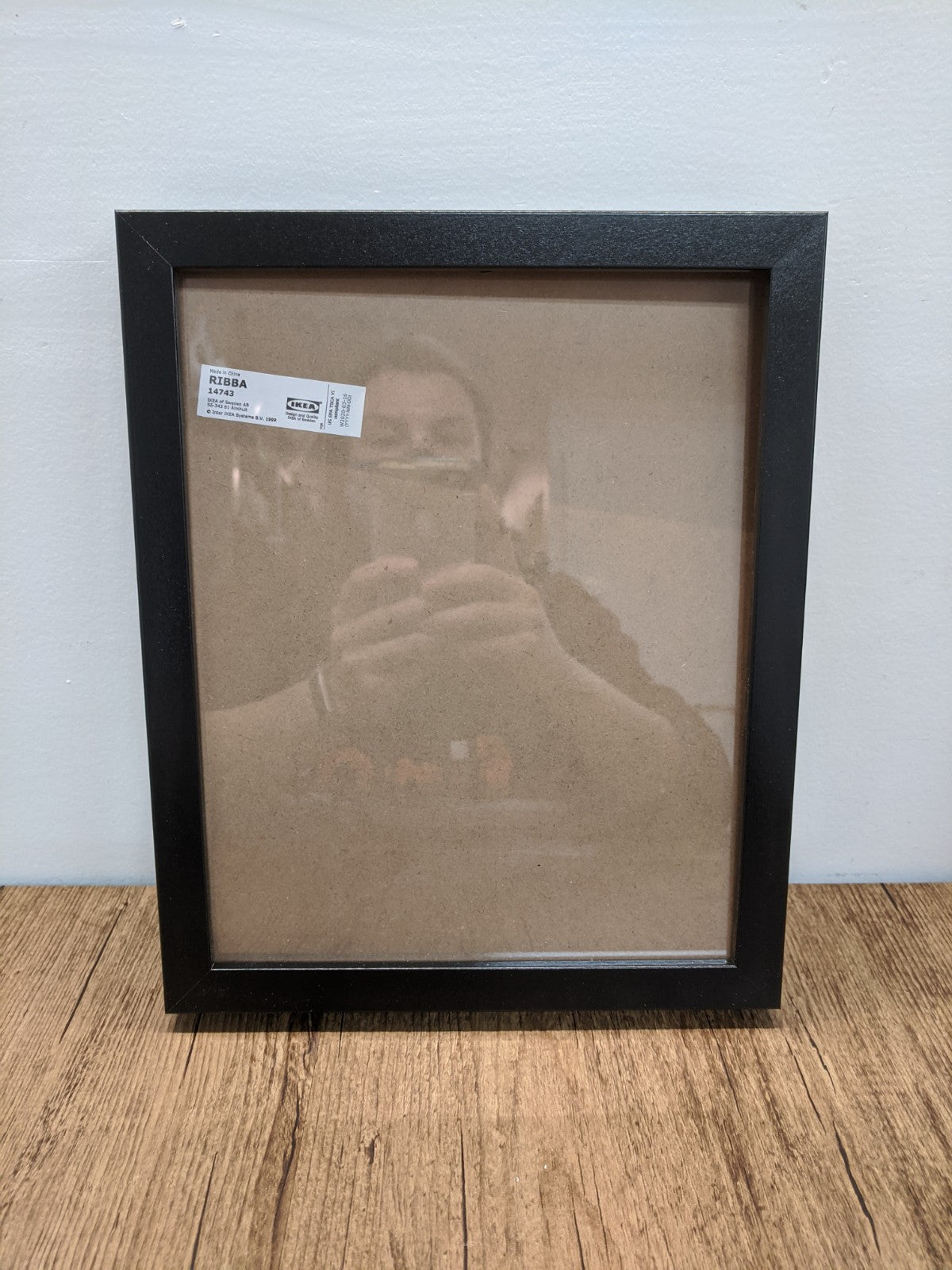 Ikea RIBBA 8X10 Black Picture Frame