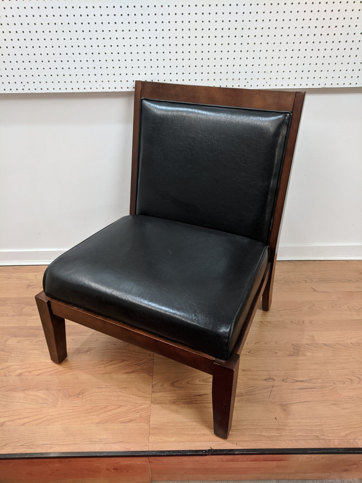 Large Comfy Black Chair