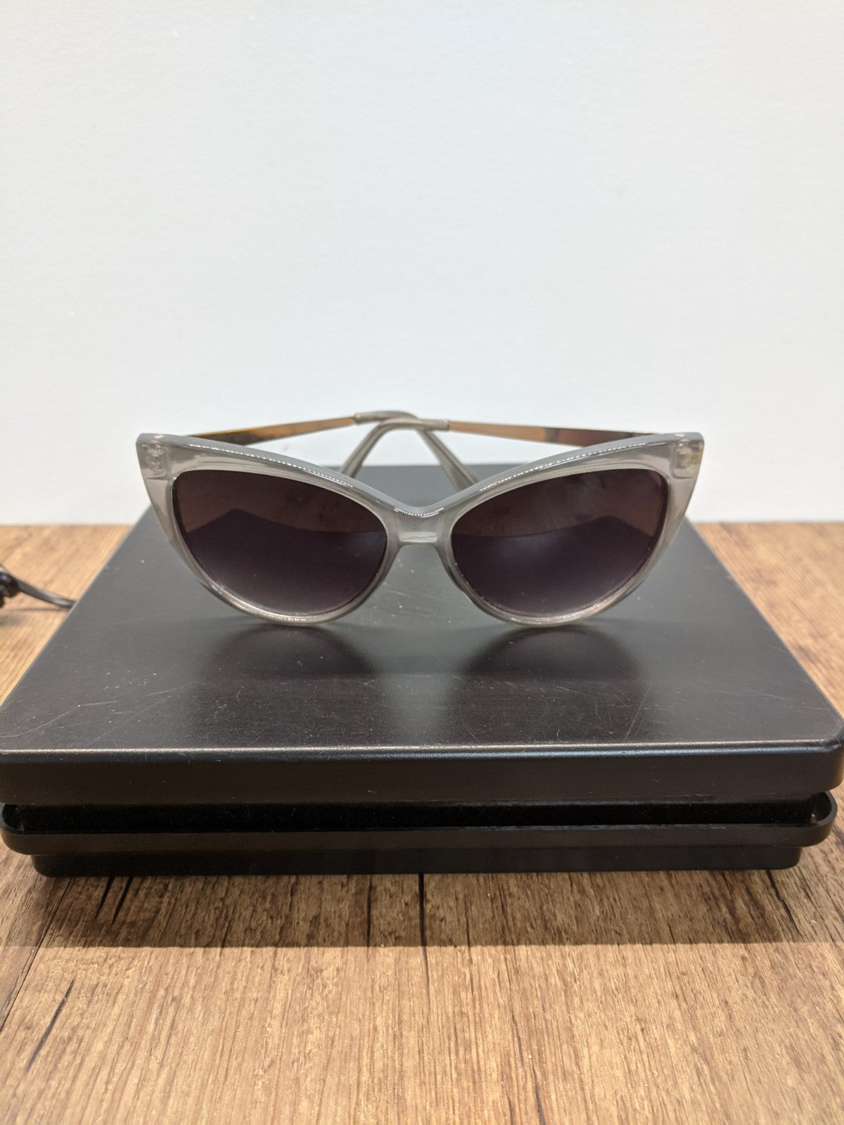 Grey Sunglasses & Case