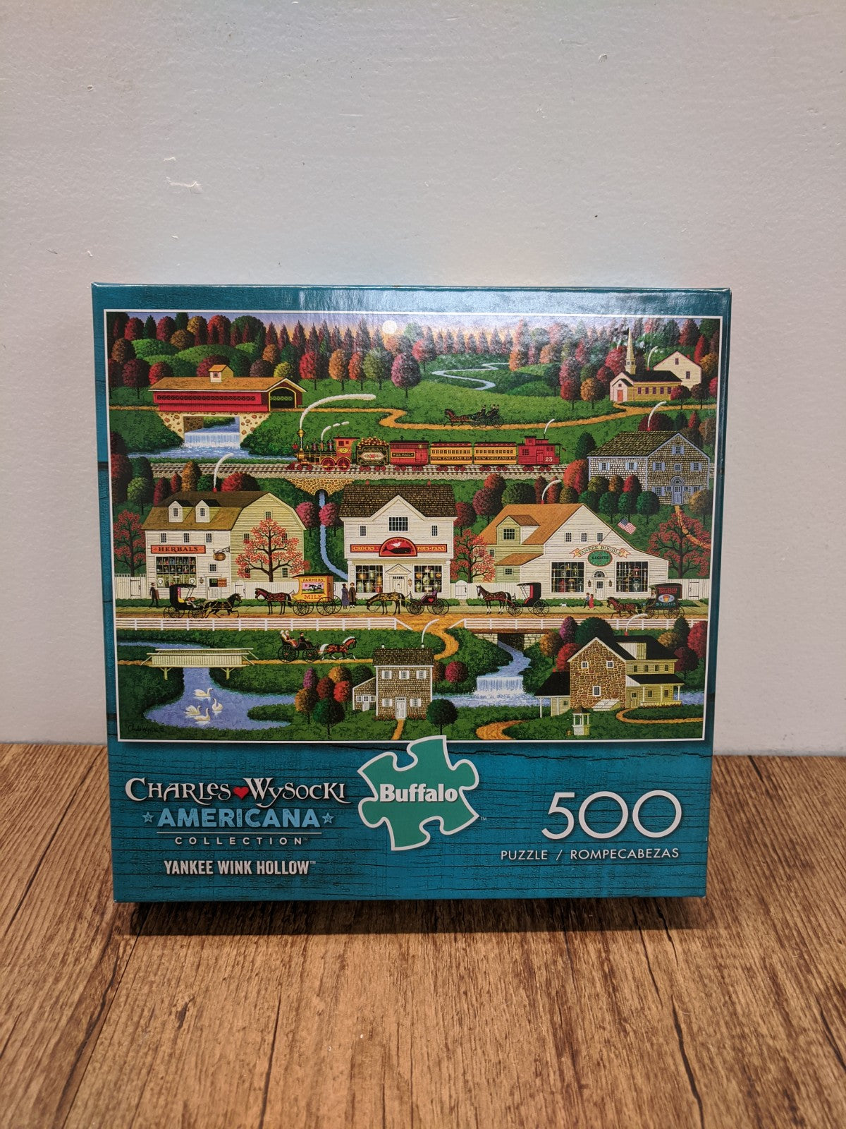 500 Piece Yankee Wink Hollow Puzzle