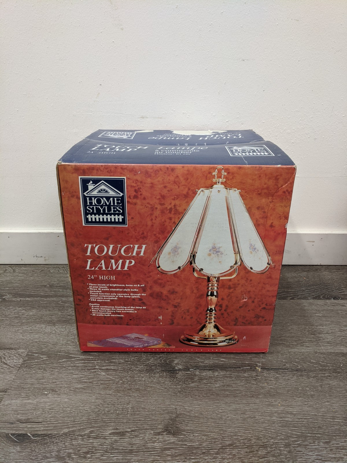Home Styles Touch Lamp