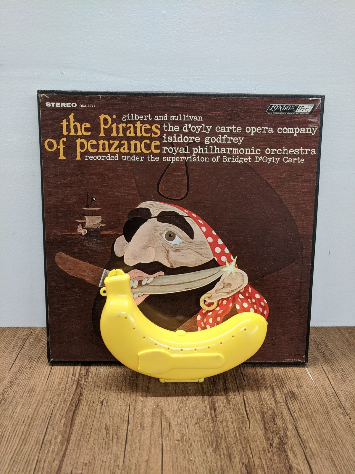 Gilbert & Sullivan - The Pirates of Penzance Vinyl