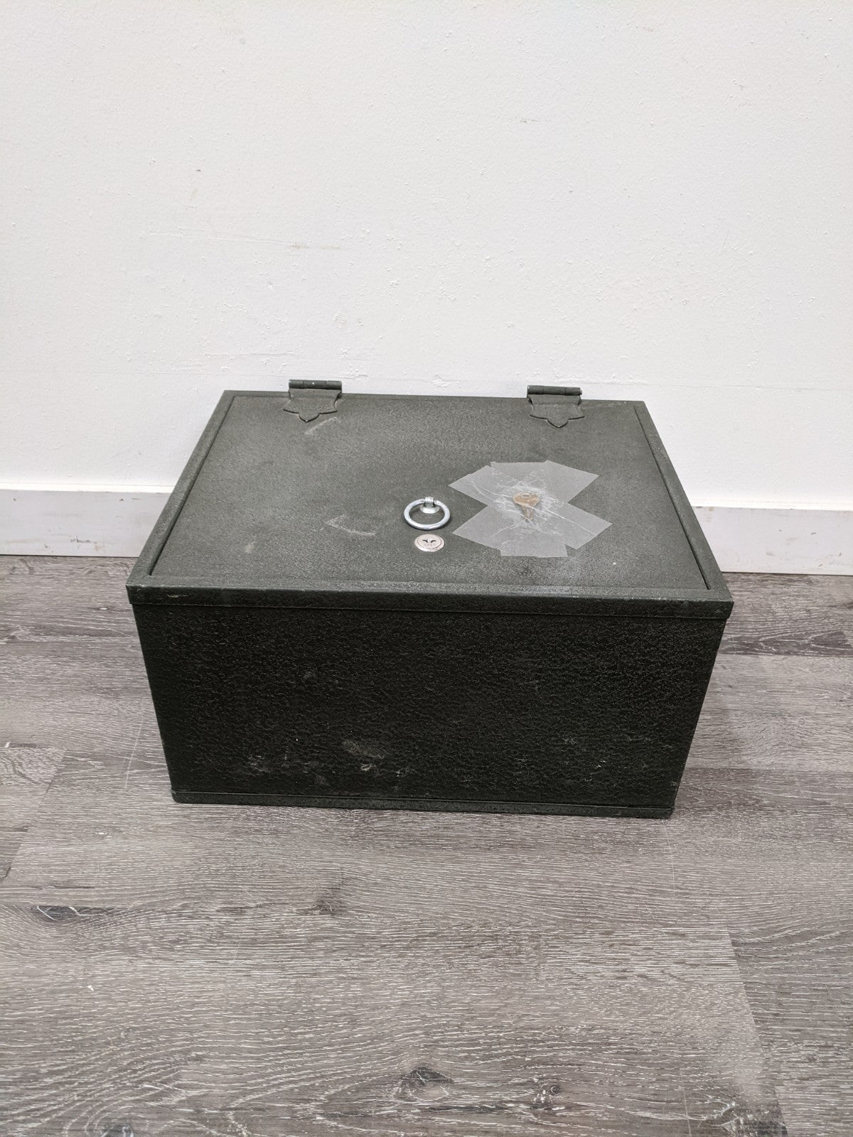 HEAVY Meilink Steel Safe Box