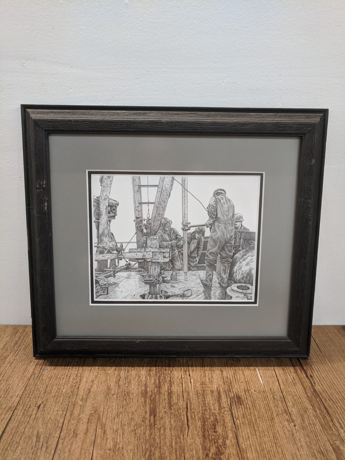 """Metal And Mud""  - Framed Bernie Brown Print"