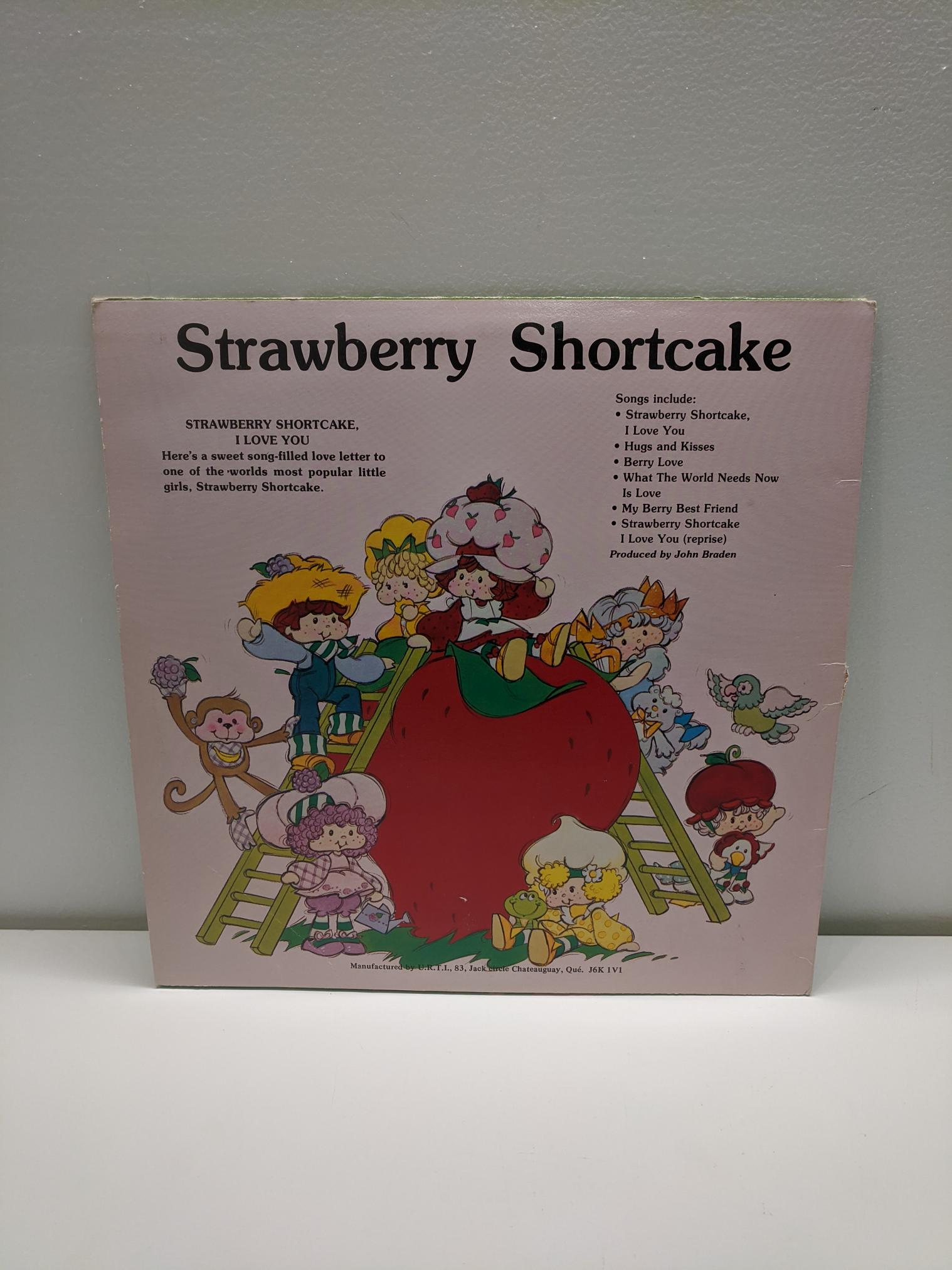 Strawberry Shortcake - I Love You! Vinyl