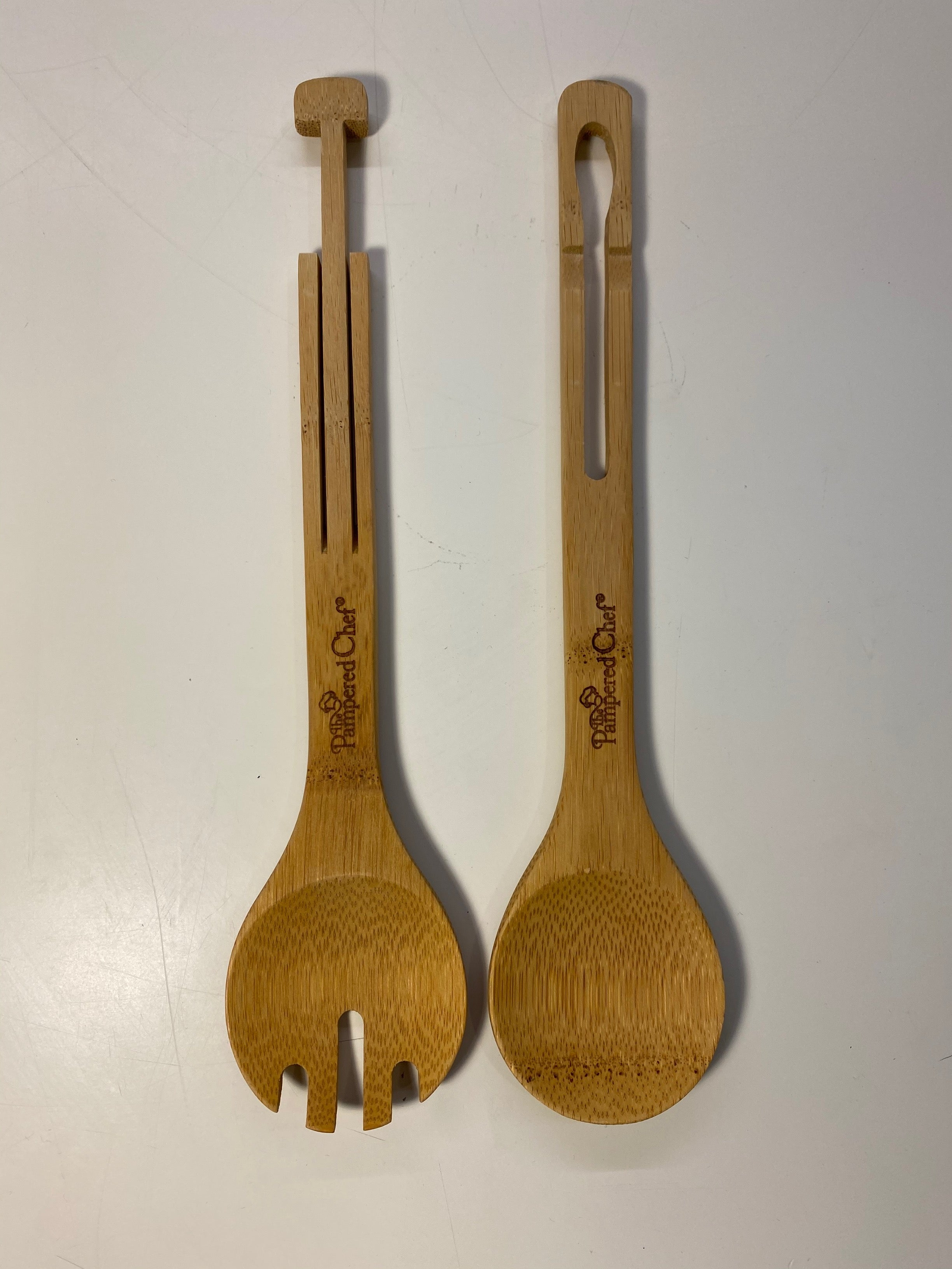 Pampered Chef Salad Servers