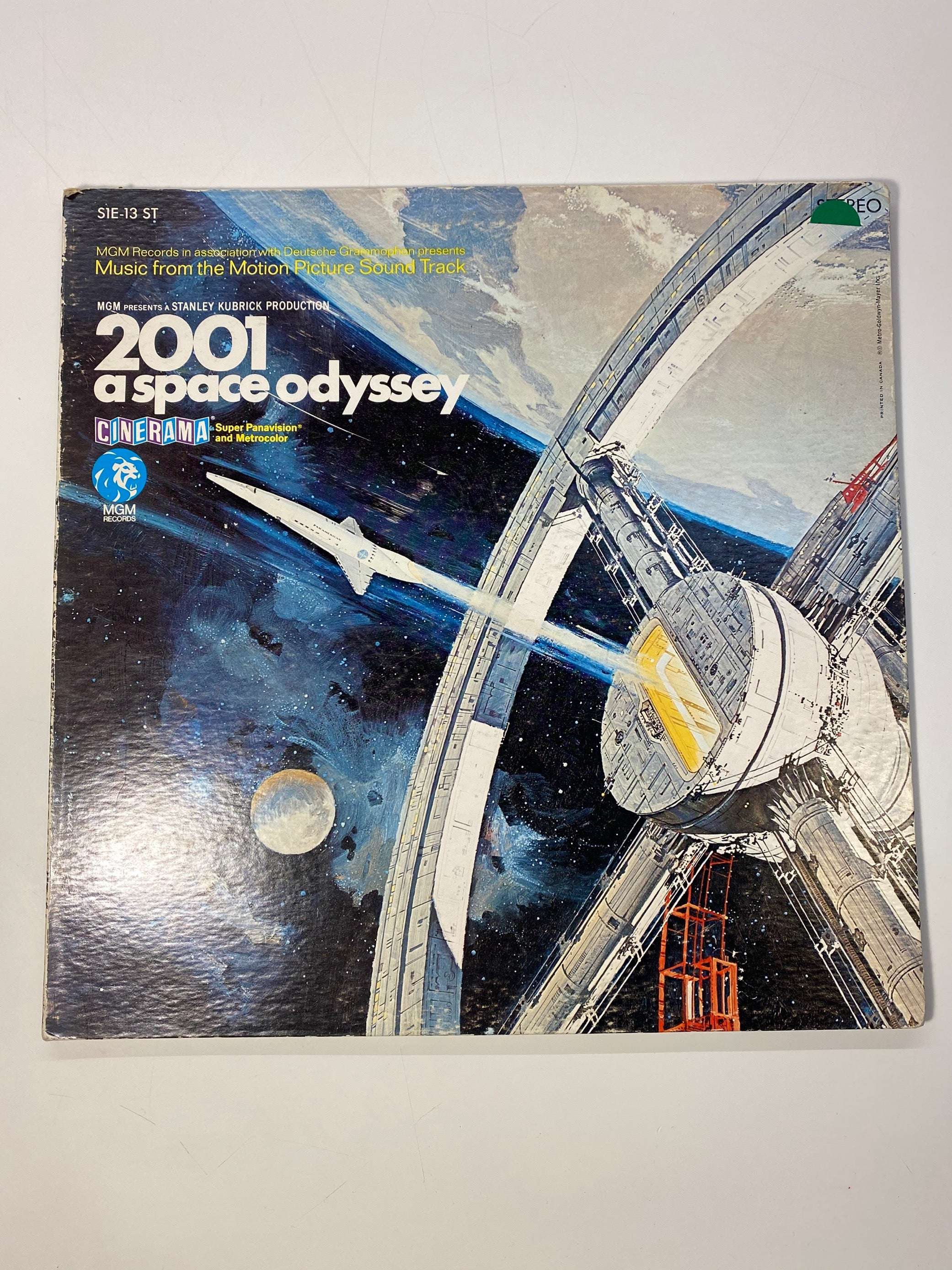 Various ‎– 2001: A Space Odyssey (Music From The Motion Picture Sound Track)