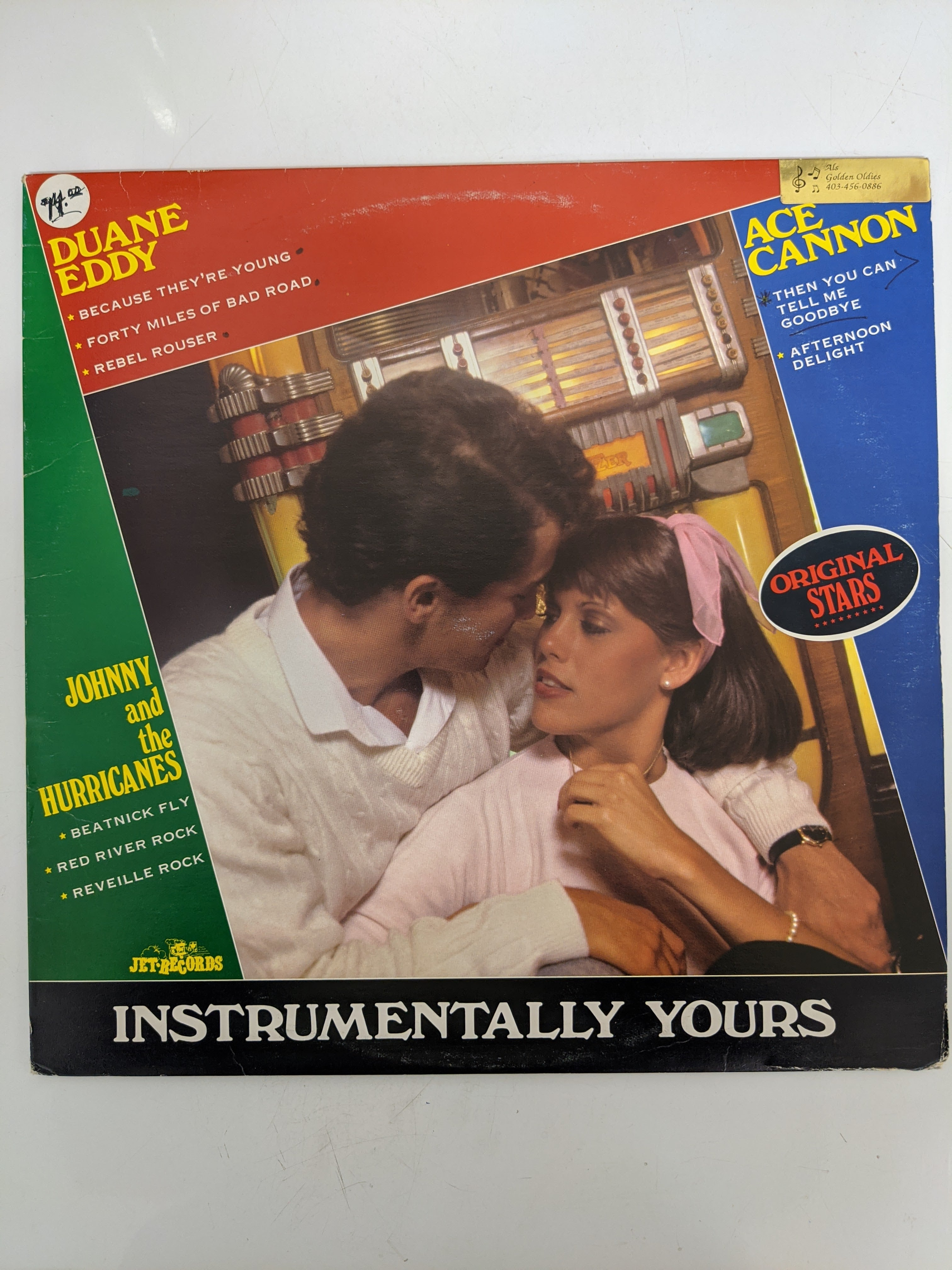 Duane Eddy, Ace Cannon, Jihnny And The Hurricanes- Instrumentally Yours Vinyl