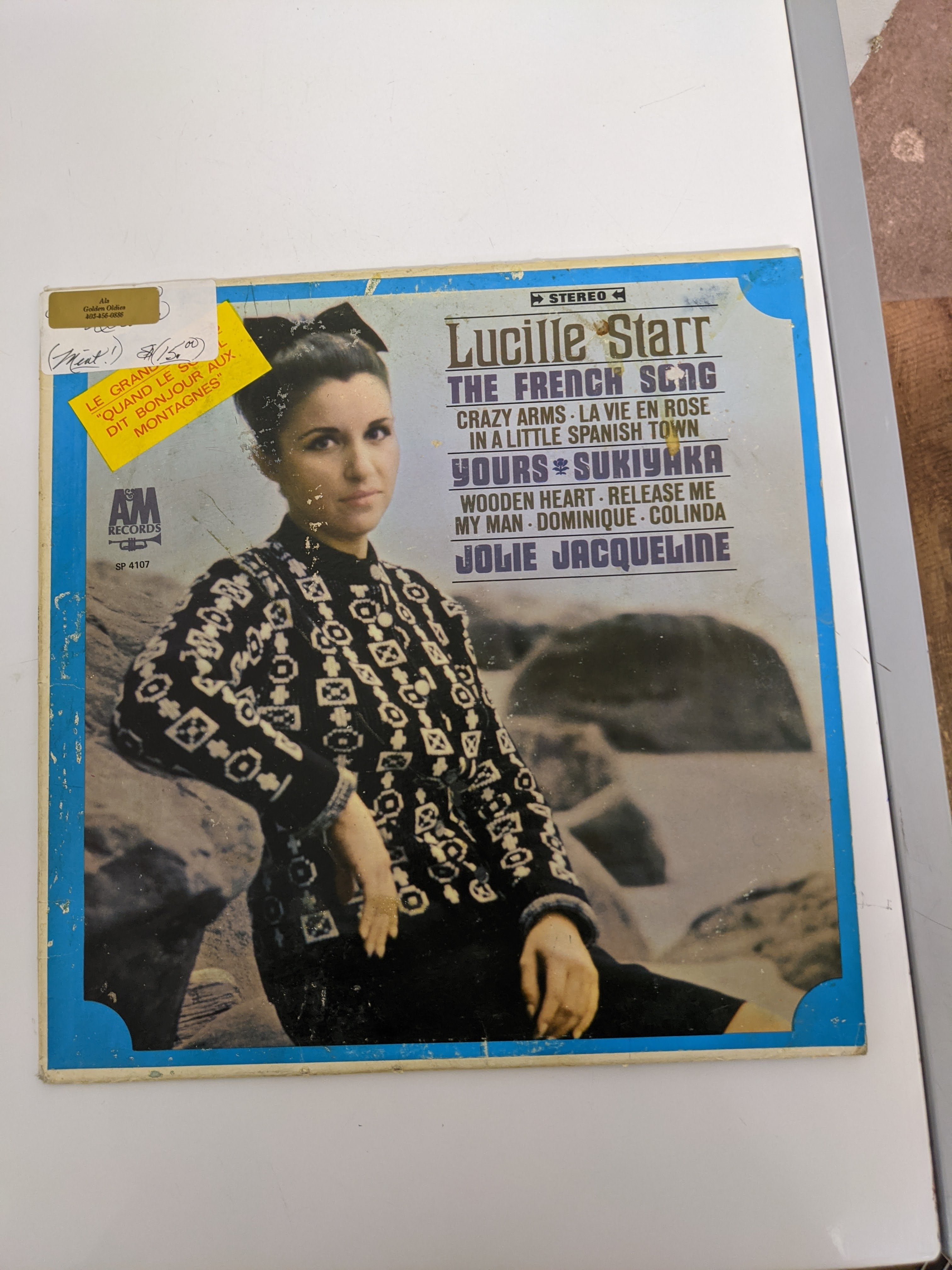 Lucille Star - The French Song Vinyl