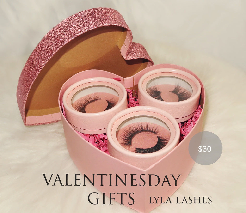 Valentines Gift for her - Lyla Lashes