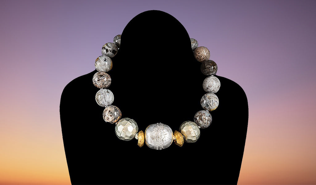 Stone Struck necklace