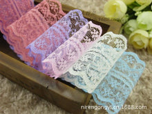 Load image into Gallery viewer, 4.5 cm Lace Ribbon (assorted colors)
