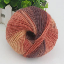 Load image into Gallery viewer, Rainbow Wool Cotton Yarn
