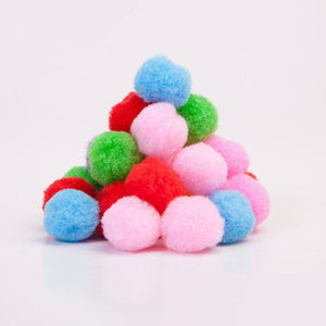 Fluffy Plush Cloth Ball Craft