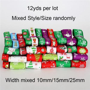 Grosgrain Satin Ribbon (Random Mixed)