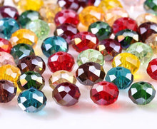 Load image into Gallery viewer, Loose Rondelle Crystal Beads
