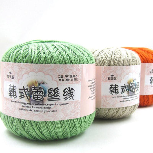 Lace Cotton Crochet Yarn
