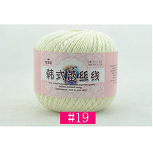 Load image into Gallery viewer, Lace Cotton Crochet Yarn