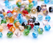 Load image into Gallery viewer, Austrian Bicone Crystal Beads