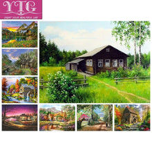 Load image into Gallery viewer, Full Diamond Painting, Rural Scenery