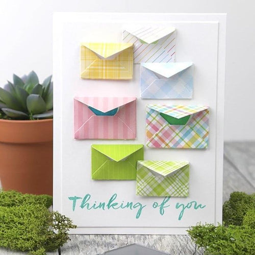 Envelope Cutting Dies for Scrapbooking