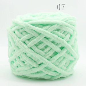Cotton Dye Scarf Hand-knitted Yarn
