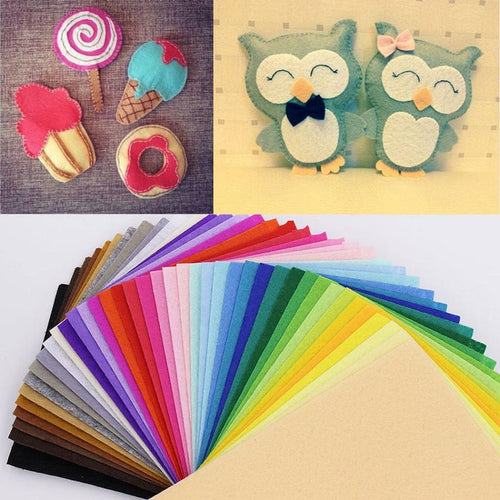 43 Colors Polyester Non-woven Fabric felt
