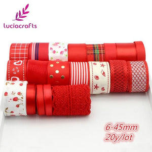 Mix Style Grosgrain Ribbon Set Trim