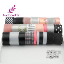 Load image into Gallery viewer, Mix Style Grosgrain Ribbon Set Trim