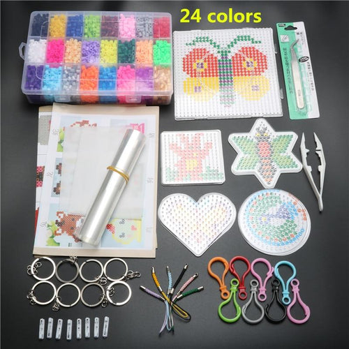 24 Colors 4600 pcs 5 mm Hama Beads Set