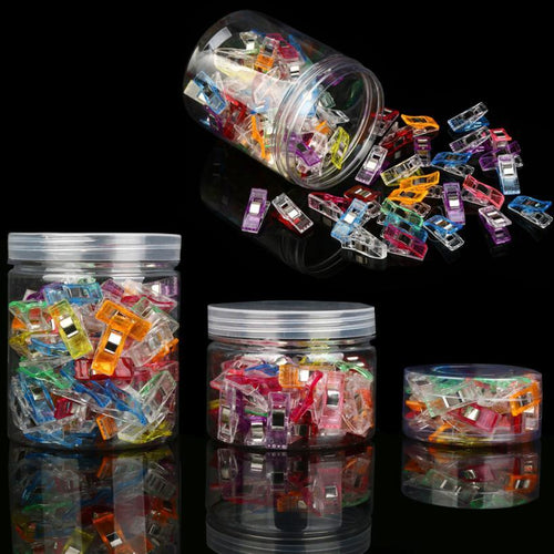 20, 50, 100 PC Plastic Wonder Clips