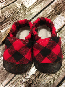 Red Buffalo Plaid (12-18 months)