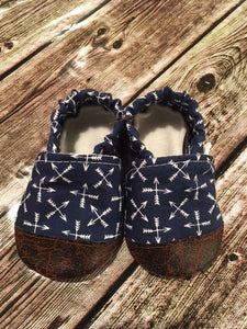 Navy Compass Arrow (9-12 months)
