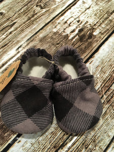 Black/Gray Plaid (3-6 months)