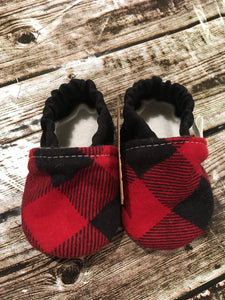 Red Buffalo Plaid (3-6 months)