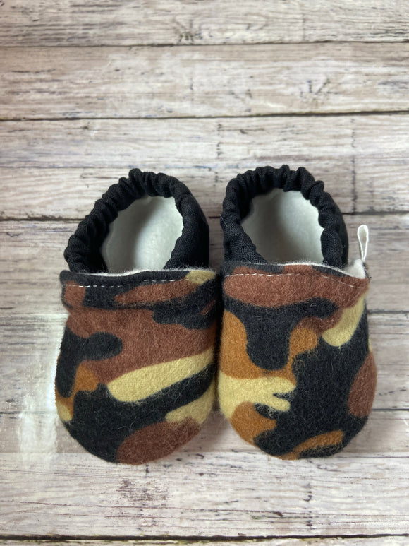 Brown Tan Black Camouflage (3-6 months)