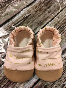 Pink with Gold Arrows (12-18 months)