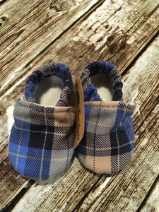 Blue/Tan Plaid (3-6 months)