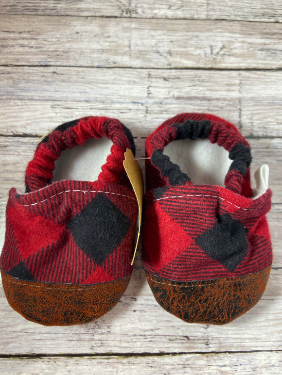 Red Buffalo Plaid (9-12 months)