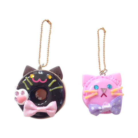 Ltd. Selected by Pop Cutie Cat Cafe' Cakes Bag Charm