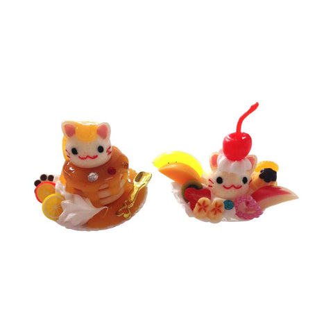 Ltd. Selected by Pop Cutie Cat Cafe' Desserts Bag Charm